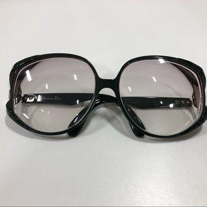 Vintage Christian Dior Large Frame Eyeglasses